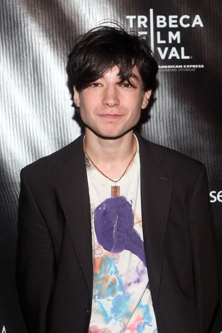 Ezra Miller at the after party of the screening of