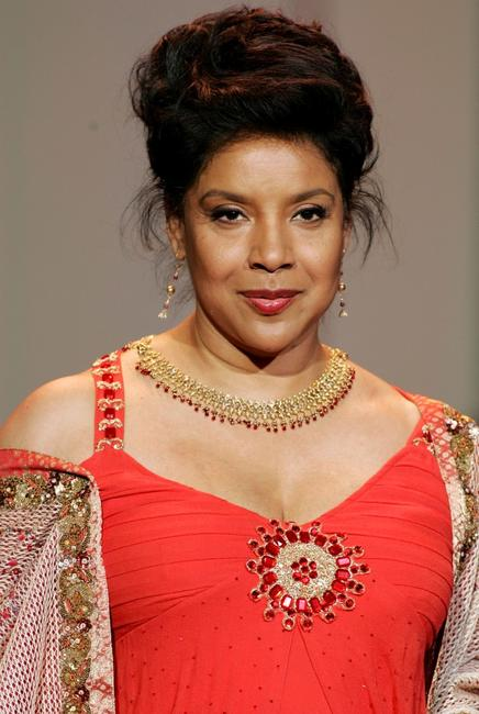 Phylicia Rashad at the Red Dress Fall 2007 fashion show during Mercedes-Benz Fashion Week.