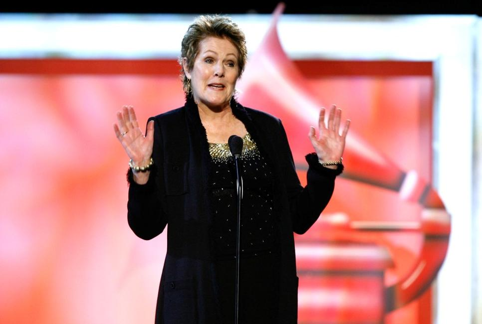Lynn Redgrave at the 49th Annual Grammy Awards.