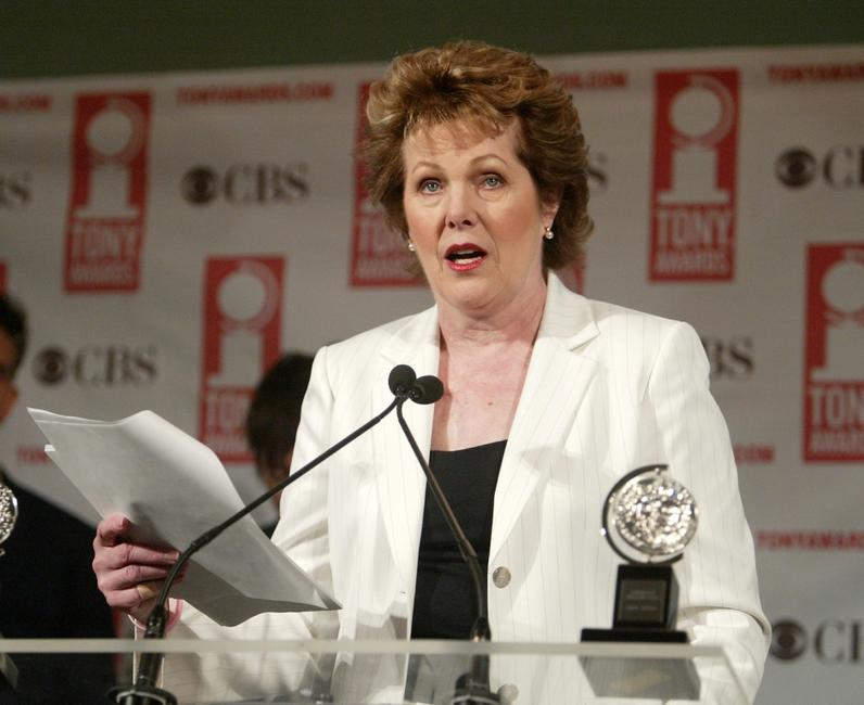 Lynn Redgrave attends the 2005 Tony Award nominations.