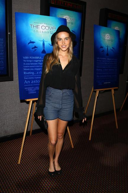 Isabel Lucasa at the special screening of