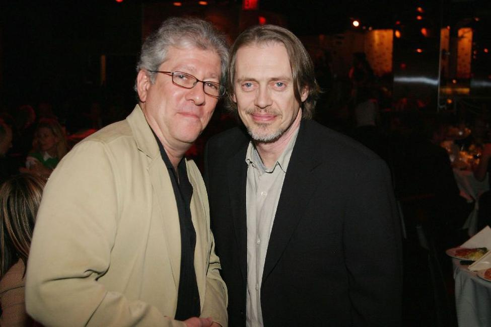 Peter Riegert and Steve Buscemi at the New York Stage and Film 2004 Gala.