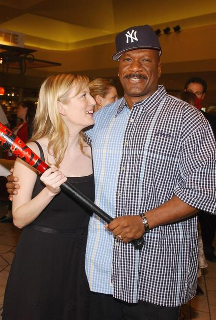 Sarah Polley and Ving Rhames at the premiere of