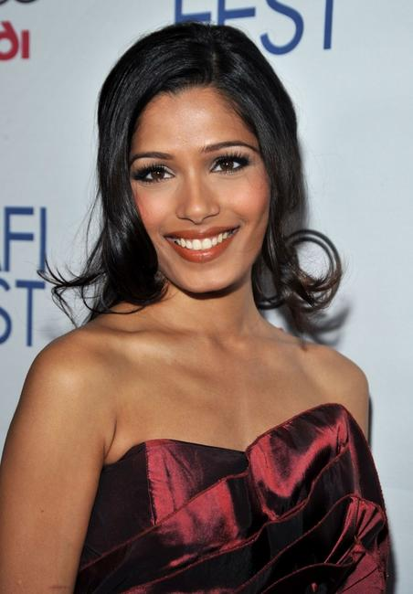Freida Pinto at the 2008 AFI Fest Tribute To Danny Boyle.