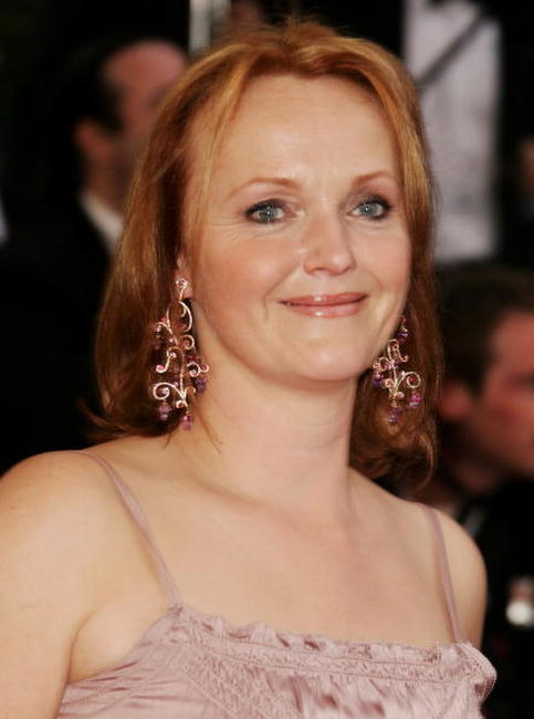Miranda Richardson at the 'Paris Je T'aime' premiere during the 59th International Cannes Film Festival.
