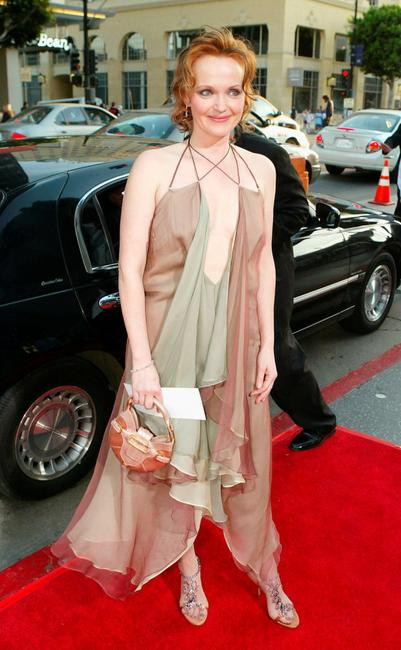 Miranda Richardson at the premiere of