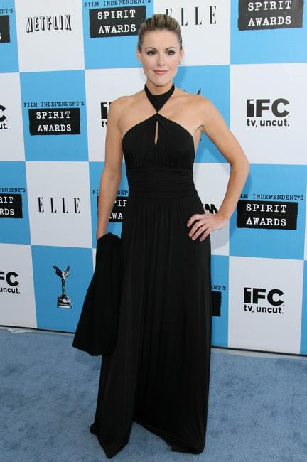 Kathleen Robertson at the 22nd Annual Film Independent Spirit Awards.