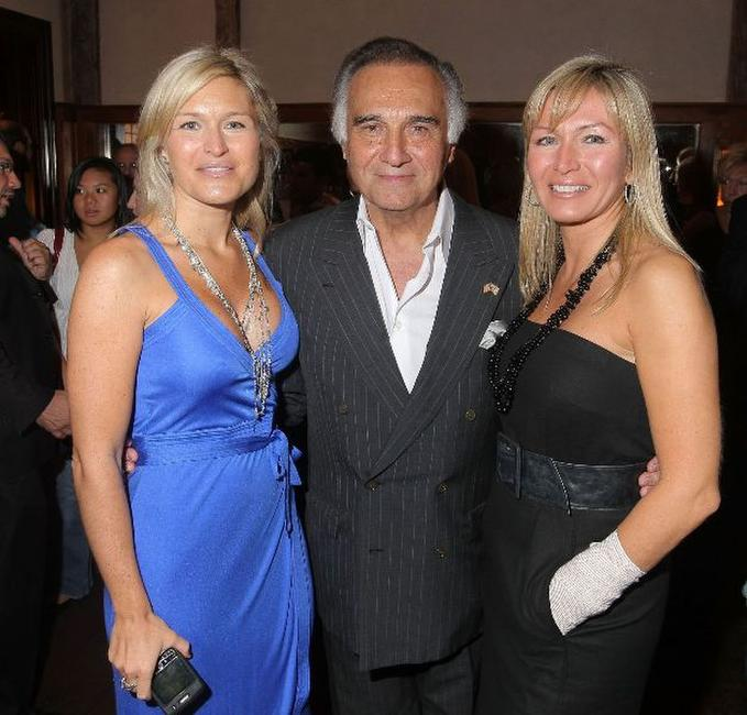 Laura Garofalo, Tony Lo Bianco and Karen Garofalo-Scala at the book release party for