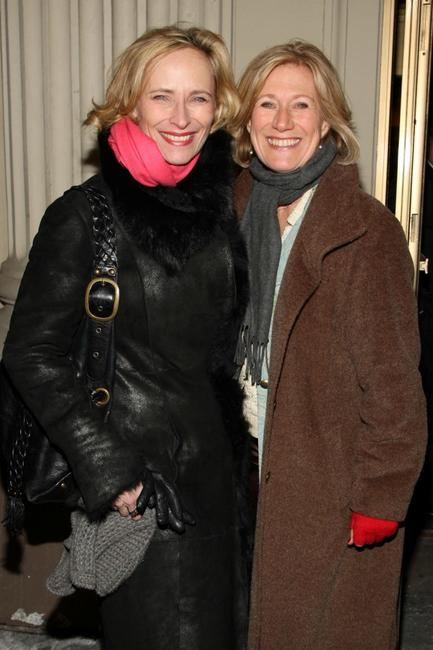 Laila Robins and Jayne Atkinson at the opening night of