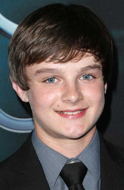 Chandler Canterbury at the California premiere of