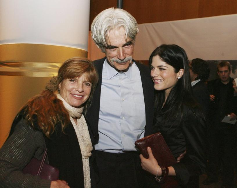 Katharine Ross, Sam Elliott and Selma Blair at the after party of the premiere of