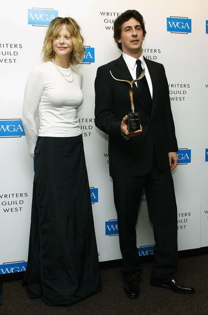 Meg Ryan and writer Alexander Payne at the 57th Annual Writers Guild Awards.