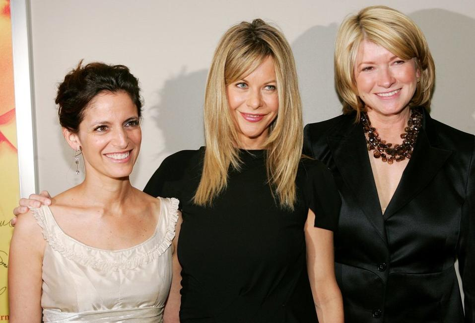 Meg Ryan, Cindi Leive and Martha Stewart at the 2006 National Magazine Awards.