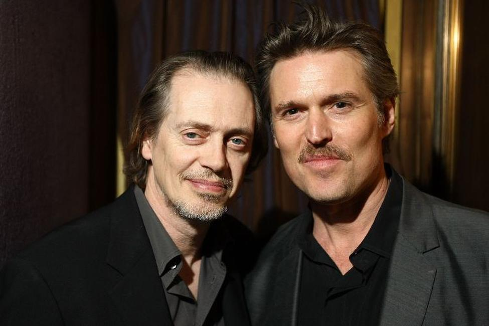 Steve Buscemi and Bill Sage at the after party of the screening of