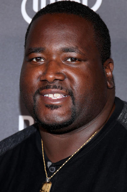 Quinton Aaron at the VIP Alienware Party during E3 in Los Angeles.