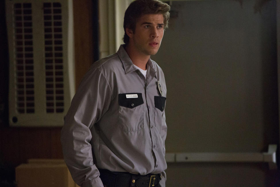 Liam Hemsworth as Chris Potamitis in