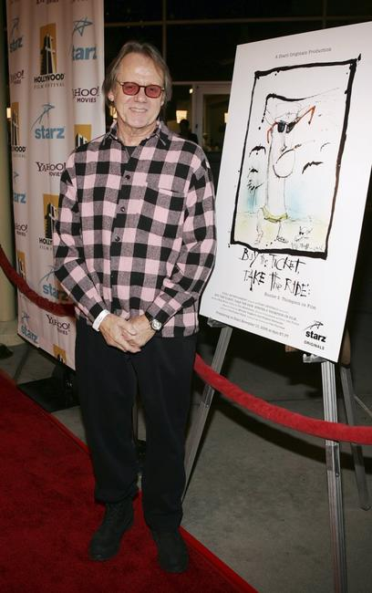 William Sanderson at the world premiere screening of