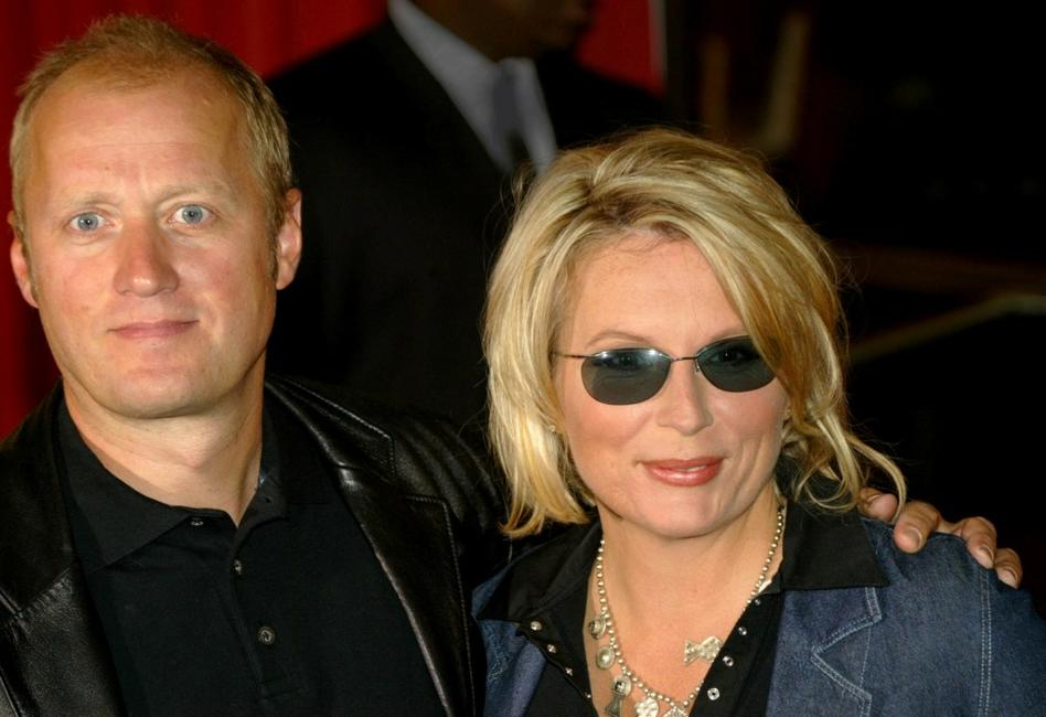 Ade Edmondson and Jennifer Saunders at the Kerrang Awards.