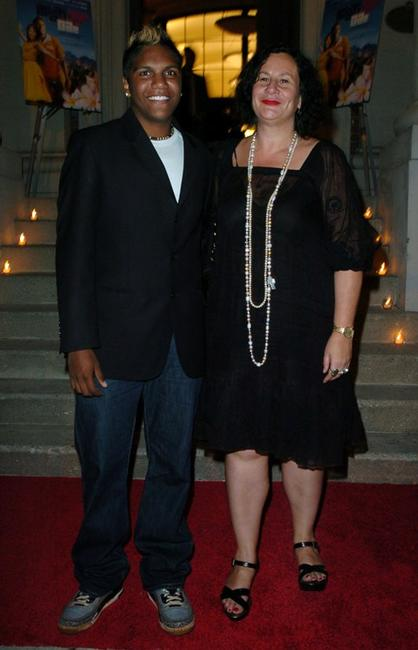 Rocky McKenzie and Robyn Kershaw at the after party of the premiere of