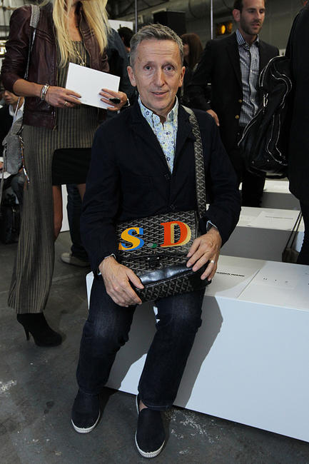 Simon Doonan at the Alexander Wang Spring 2011 Fashion show during the Mercedes-Benz Fashion Week.