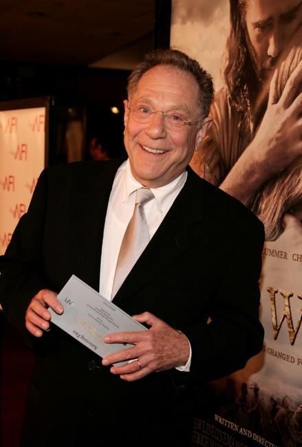 George Segal at the premiere of