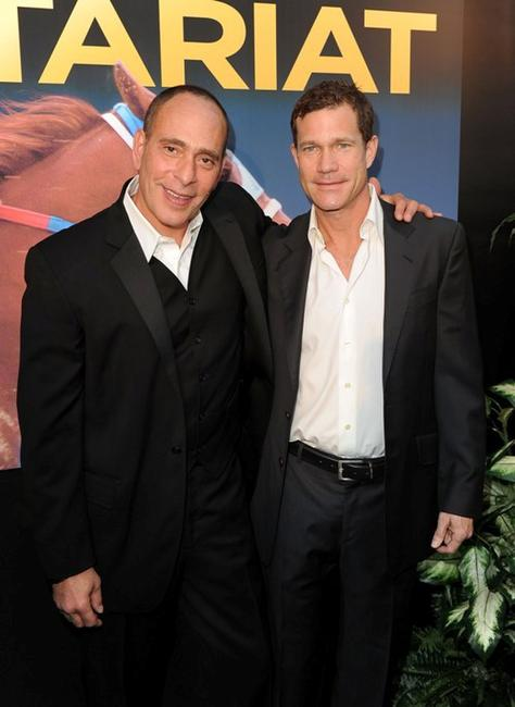 Nestor Serrano and Dylan Walsh at the premiere of