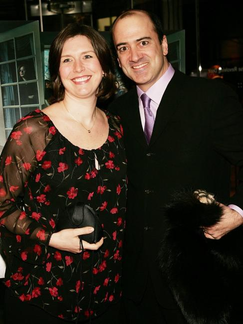 Matt Servitto and wife at the sixth season premiere of