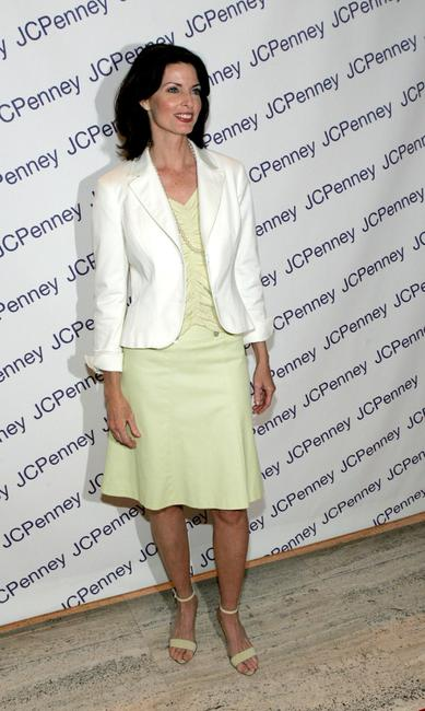 Joan Severance at the JC Penny's launch of Nicole by Nicole Miller.