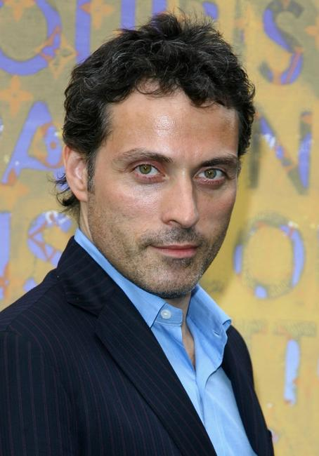Rufus Sewell at the Louis Vuitton and Richard Prince Dinner.