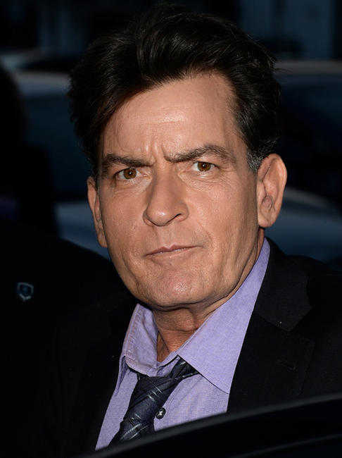 Charlie Sheen at the California premiere of