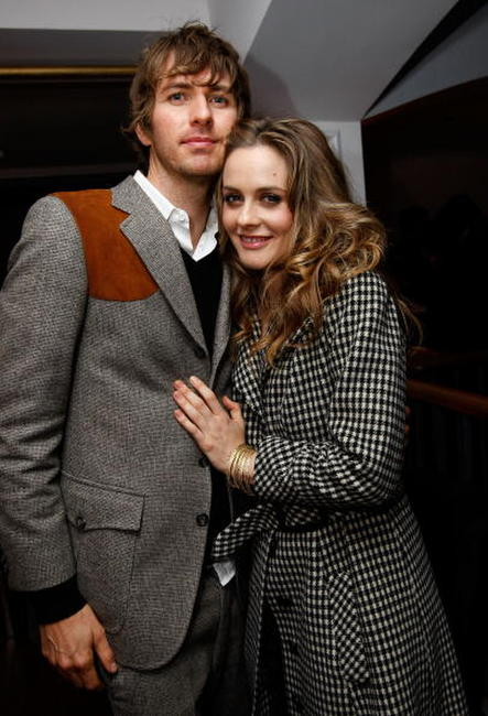 Alicia Silverstone and Christopher Jarecki at the