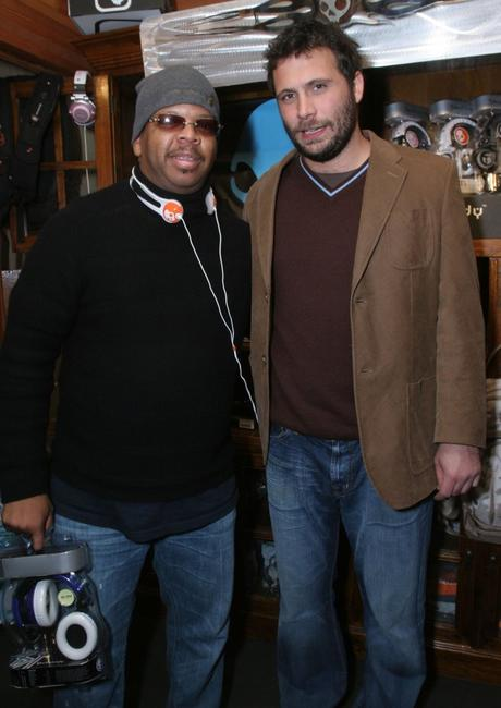 Jeremy Sisto and Terence Blanchard at the Gibson Guitar and Entertainment Tonight celebrity hospitality lodge during the 2007 Sundance Film Festival.