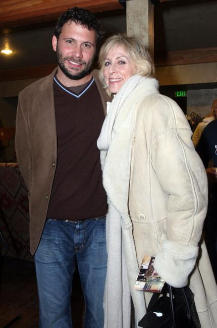 Jeremy Sisto and Judith Light at the Gibson Guitar and Entertainment Tonight celebrity hospitality lodge during the 2007 Sundance Film Festival.