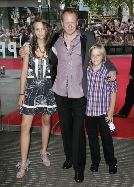 Stellan Skarsgard and his family at the European premiere of