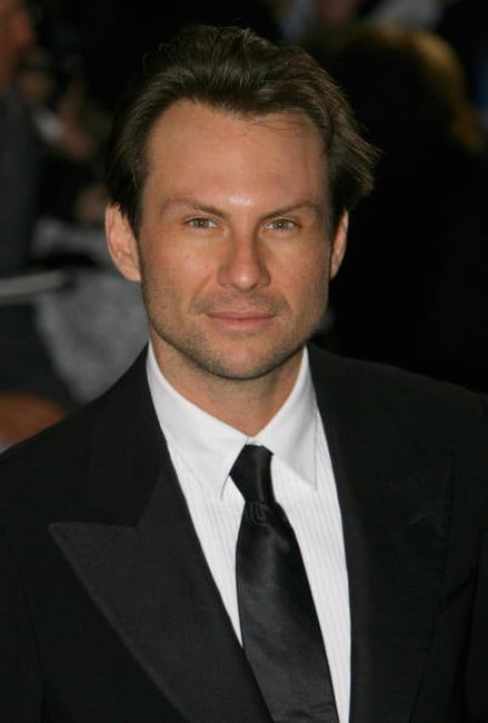 Christian Slater at the National Movie Awards in London.