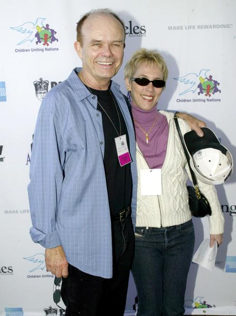 Kurtwood Smith and his wife at the International Day of the Child at the Santa Monica Pier.