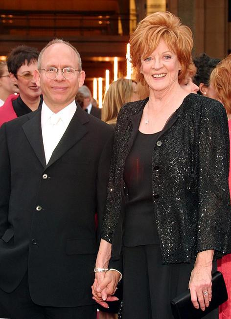 Bob Balaban and Maggie Smith at the Kodak Theater in Hollywood.