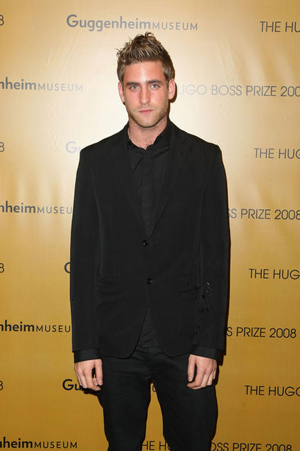 Oliver Jackson-Cohen at the Hugo Boss Prize 2008 in New York.
