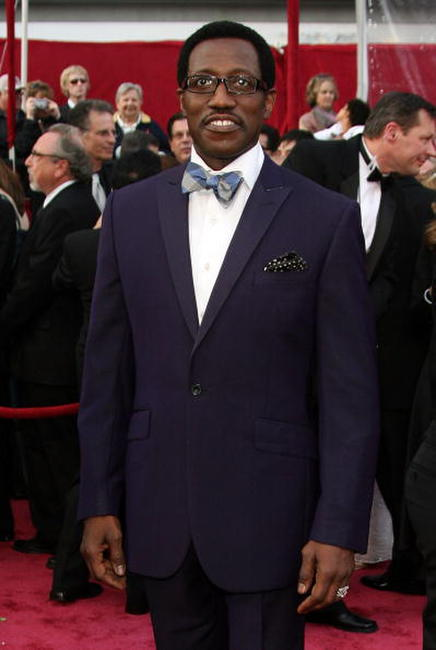 Wesley Snipes at the 80th Annual Academy Awards.