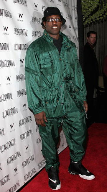 Wesley Snipes at the Jamie Foxx Pre-Oscar Party.