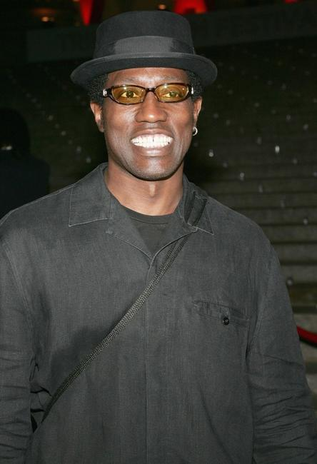 Wesley Snipes at the Vanity Fair party for the Tribeca Film Festival.