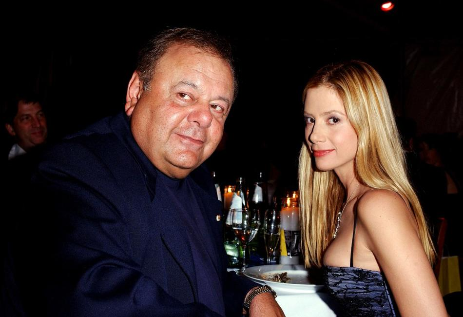 Paul Sorvino and Mira at the Oscar Night Benefit Party for Amnesty International and the ACLU Foundation.