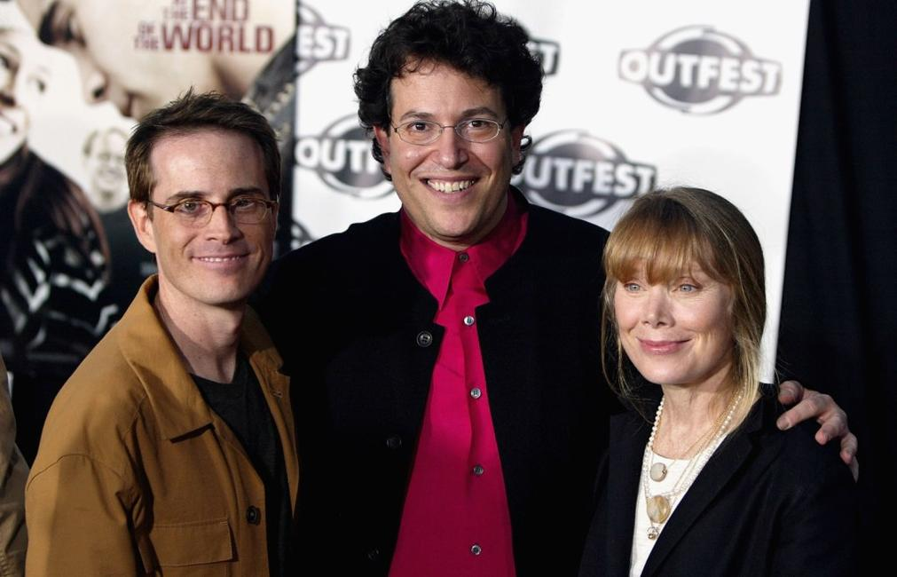 Sissy Spacek, Stephen Gutwillig and Michael Mayer at the premiere of