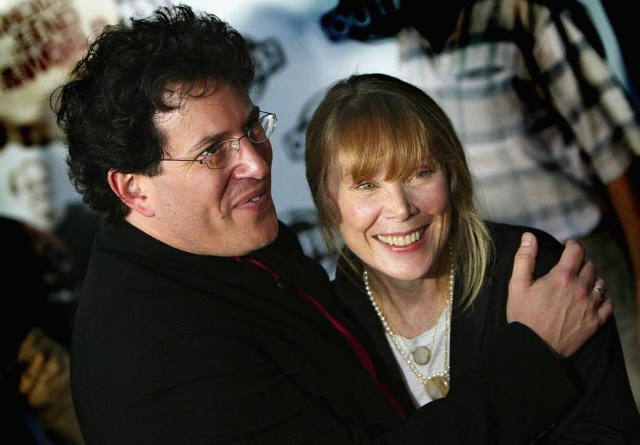Sissy Spacek and Michael Mayer at the premiere of