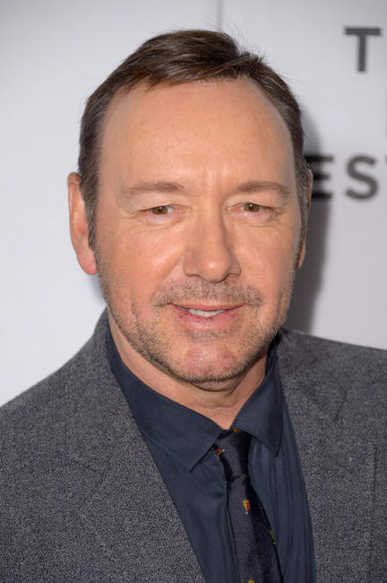 Kevin Spacey at the New York premiere of