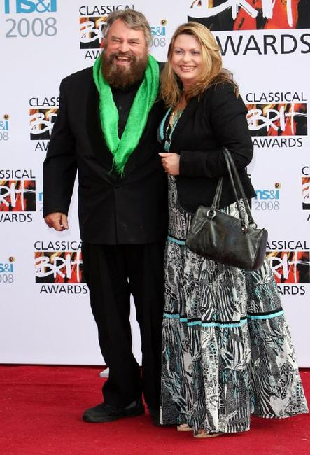 Brian Blessed and Hildegarde Neil at the Classical Brit Awards 2008.