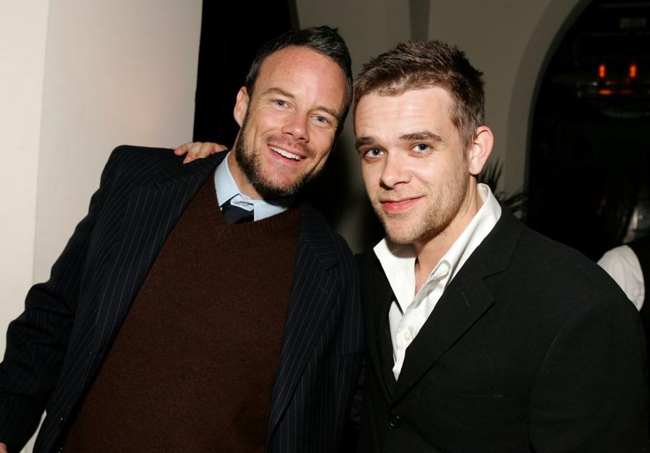 Nick Stahl and Sean Fay at the Lions Gate Oscar Bash
