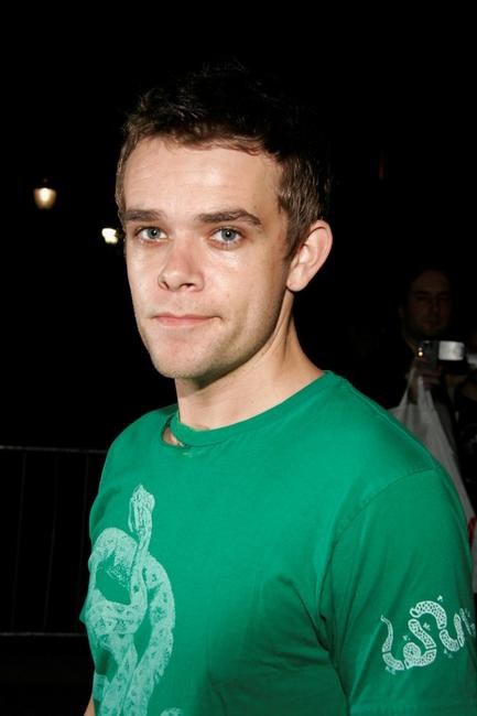Nick Stahl at the Olympus Fashion Week Spring 2006.
