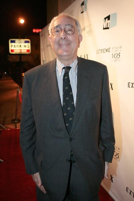Ben Stein at the crowning finale and celebration for VH1's America's Most Smartest Model.