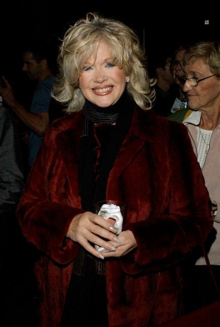 Connie Stevens at the S.T.A.G.E. tribute to musician Jerry Herman to benefit the Actor's Fund.